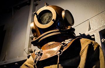 Old SCUBA Diving Suit